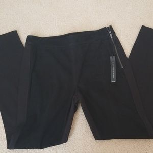 NWT WHBM genuine suede leggings